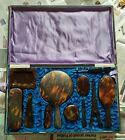 Victorian+Large+Faux+Tortoiseshell+Vanity+Set