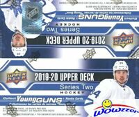 2019/20 Upper Deck Series 2 Hockey Sealed HUGE 24 Pack Retail Box-6 YOUNG GUNS