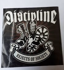 DISCIPLINE- REJECTS OF SOCIETY CAPTAIN Oi AHOY CD 219 2003