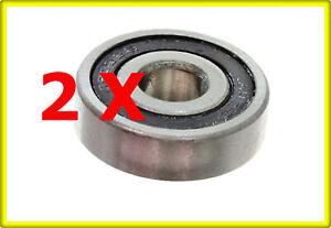 2x Achslager Hinterachse Lager Industriequalität Quad Shineray XY250ST 9C XY250