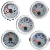 "2"" 52mm LED Car Oil Pressure/Boost/Voltage/Tachometer Gauge Water Temp Meter"