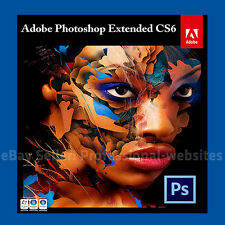 Adobe Photoshop CS6 32/64 Bit Full Version - With Key Official Download PC & MAC