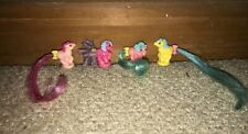 VINTAGE G1 My Little Pony Petite Pony - Good Condition - 4 Ponies