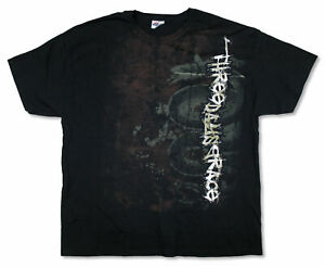 Three Days Grace Snake Splatter Black T Shirt (2X) NEW