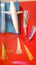 Esca TRAINA artificiale teaser MINNOW OCTOPUS pesca polipetto filosa terminale