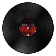 Traktor Scratch Control Vinyl mk2 Black Vinyl timecode DJ NEW