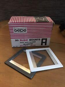 Gepe 2501 45x60 AN Glass Slide Mounts (20)