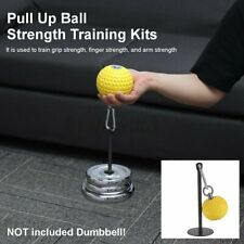Pull Up Ball Strength Training Kits Forearm Wrist Grip Weight Fitnes