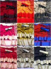 Raw Silk Saree Khadi Weaving Pallu Sari Blouse Indian Clothing Women's Wear