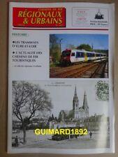 Chemins de fer régionaux et urbains n��262 juillet 1997 Tramways d'Eure-et-Loir