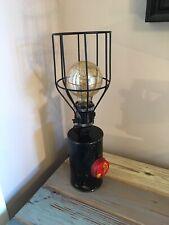 Vintage Fuel Tank lamp. Lighting