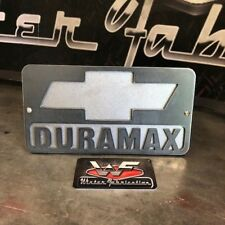 "Chevrolet DURAMAX Two Layer Hitch Cover 1/8"" Steel LB7 LLY LBZ LMM LML L5P Chevy"
