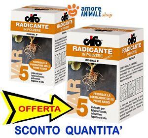 Cifo RIGENAL P 100 gr - ORMONE RADICANTE in Polvere - Nuove Vecchie Radici Talee