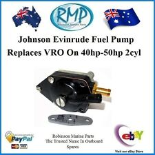 a Johnson Evinrude VRO Replacement Fuel Pump V4 88hp-thru-115hp # R 433387