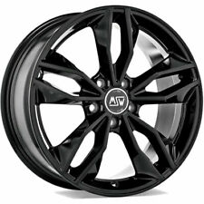 CERCHI IN LEGA MSW 71 8X18 5X114.3 ET40 LEXUS IS GLOSS BLACK 3B7