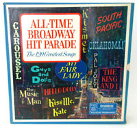 Readers Digest ALL TIME BROADWAY HIT PARADE The 120 Greatest Songs BOXED LP SET