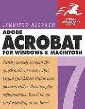 Adobe Acrobat 7 for Windows & Macintosh Alspach, Jennifer Paperback