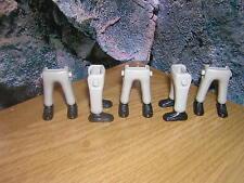 (A 12/9) 5x Piernas gris negros zapatos GUARDIA Soldados ACW OESTE