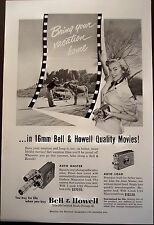 1950 original AD Bell & Howell 16mm movie camera