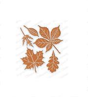 LEAVES DIE SET-Impression Obsession Stamps-Steel/Wafer Dies-Autumn/Fall Leaf