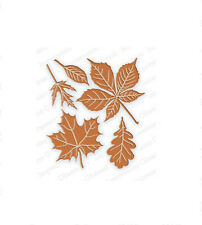 LEAVES DIE SET-Impression Obsession Stamps-Steel/Wafer Dies-Autumn/Fall Leaf