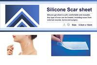 Silicone Scar Sheet  - Gel sheet for Treatment / Repair / Removal 3.5cm x 12cm