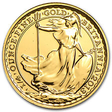 2013 1/4 oz Gold Britannia Coin - Brilliant Uncirculated - SKU #81567