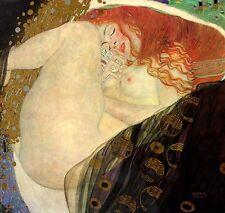 Gustav Klimt Reproductions: Danae - Fine Art Print