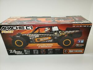 HPI APACHE C1 1/8 SCALE BRUSHLESS NEW IN BOX ALL TERRAIN BUGGY