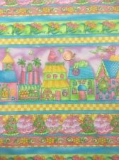 100% Cotton Quilting craft Fabric Princess Boutique 820 Kimiko Purple benartex