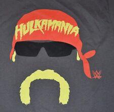 Hulkamania Hulk Hogan Graphic Tee Mens T-Shirt Size Medium Licensed WWE