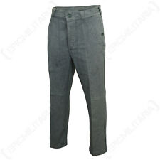 Original Swiss Work Trousers - Vintage Jeans Denim Army Surplus Pants Military