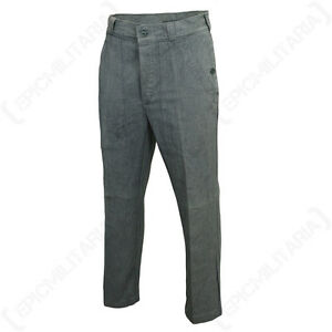 Original Swiss Work Trousers - Vintage Jeans Denim Army Surplus Pants Military