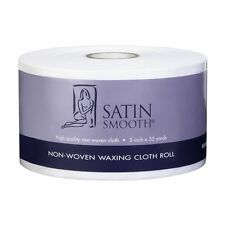 SATIN SMOOTH NON-WOVEN WAXING CLOTH ROLL, Wax Sticks to Cloth