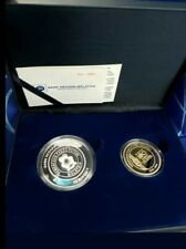 2016 puteri girl scout proof Coin Set Of 2 silver & nordic With Cert & box sn881