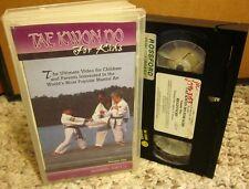 TAE KWON DO FOR KIDS martial arts Edward G. Robinson philosophy VHS exercises