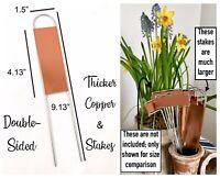 25 Metal Plant Garden Labels Markers Zinc Aluminum Tags Stake Art Decorative Big