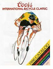 Coors International Bicycle Classic 1986 Catalog Magazine Bike Cycling