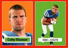 2012 Topps 1957 Red Target #19 Coby Fleener Colts