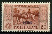 Patmo 1932 Sass. 18 Nuovo * 100% Garibaldi