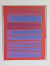 Josef Albers Original Silkscreen Folder XVIII-9 Left Interaction of Color 1963