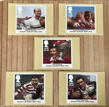 Rugby League Centenary | Royal Mail Stamp Cards Postcards | Series PHQ 174
