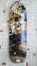 """Vintage Planche Skate Black Label Hensley Saloon Bowl shape 8.62"""""""
