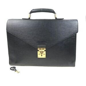 100% Authentic Louis Vuitton Epi Serviette Condeiller M54422 [Used] {07-0232}