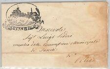 ITALIA REGNO- Storia Postale: BUSTA PREFILATELICA  -  FROSINONE: Paliano 1871