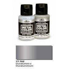 Vallejo Paints And Accessories  Metal Color VLJ-77702 Duraluminum Metal Color