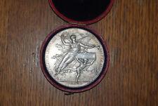 GRANDE MEDAILLE ARGENT SILVER EXPOSITION UNIVERSELLE INTERNATIONALE  1878 PARIS