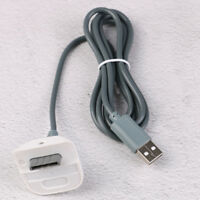 USB 2.0 cable lead for xbox 360 console wireless gamepad controller charger Sqi4