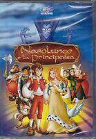 Dvd **NASOLUNGO E LA PRINCIPESSA** nuovo Animazione 2007