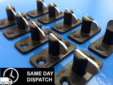 STAYPUT FASTENERS HORIZONTAL T TOGGLES EYELET BOAT COVERS BLACK 10 PACK MARINE